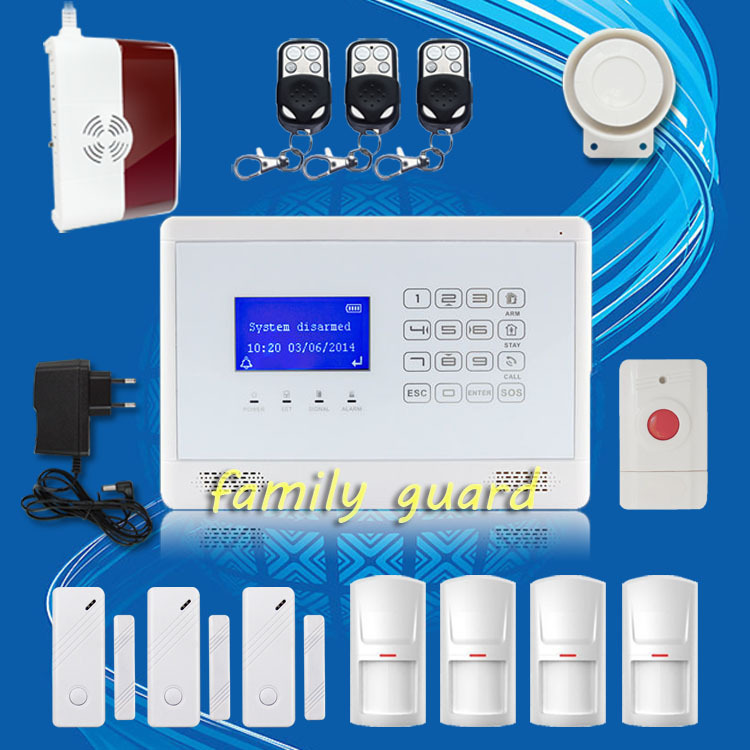 Здесь можно купить  Free Shipping!M2BX Wireless GSM SMS TEXT Touch Keypad Home House Alarm System Menu display convenient+Gas Sensor+Panic Button Free Shipping!M2BX Wireless GSM SMS TEXT Touch Keypad Home House Alarm System Menu display convenient+Gas Sensor+Panic Button Безопасность и защита