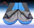 Outdoor cotton sleeping bags winter thickening envelope sleeping bag adult double sleeping bag(China (Mainland))