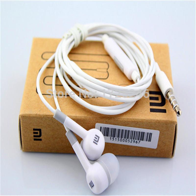 2016 Hot Sale XiaoMi Headphone 3.5mm Universal Earphone MI Headset, For iPhone Samsung MP3/MP4 Player Headphones E008