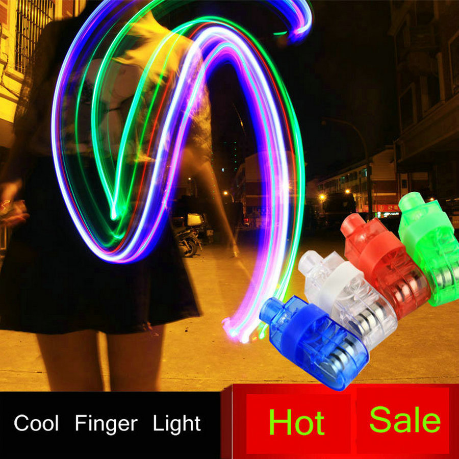 Multi-colorful LED laser Finger Ring Light Lamp Beams Torch For for Christmas and Other Festival in Party KTV Bar gift(China (Mainland))