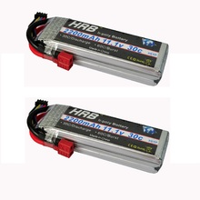 2pcs HRB Lipo RC Battery 11.1V 2200mah 30C For Trex-450 Fix-wing RC Helicopter RC boat quadcopter Airplane(China (Mainland))