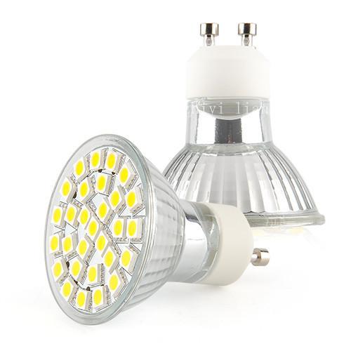 Best GU10 3W Warm White 220V 29 5050SMD LED Spot Bright Screw Light Lamp Bulb
