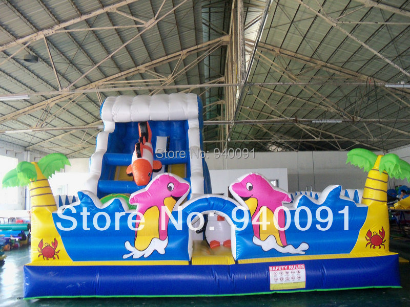 Manufacturers selling inflatable slides, inflatable castle!YLY-066(China (Mainland))