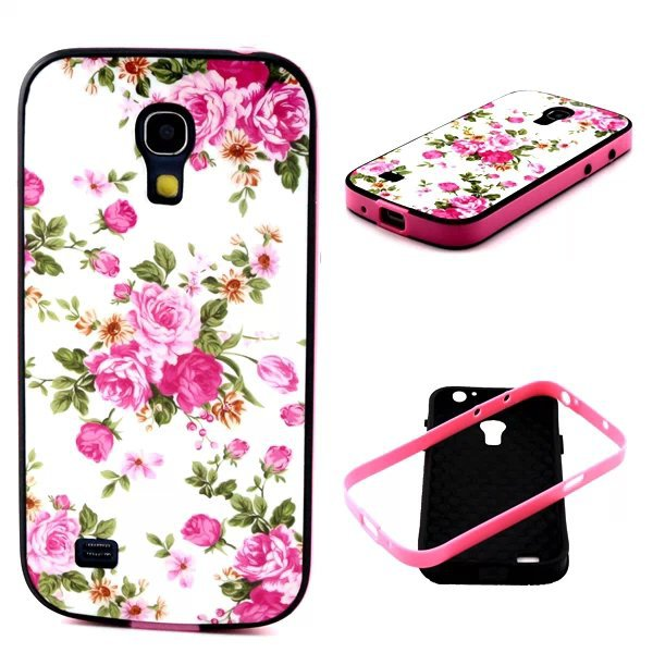 PC+TPU Retro Fashion Trend Pattern 2 in 1 Style Phone Cases Cover For Samsung Galaxy S4 Mini I9190(China (Mainland))