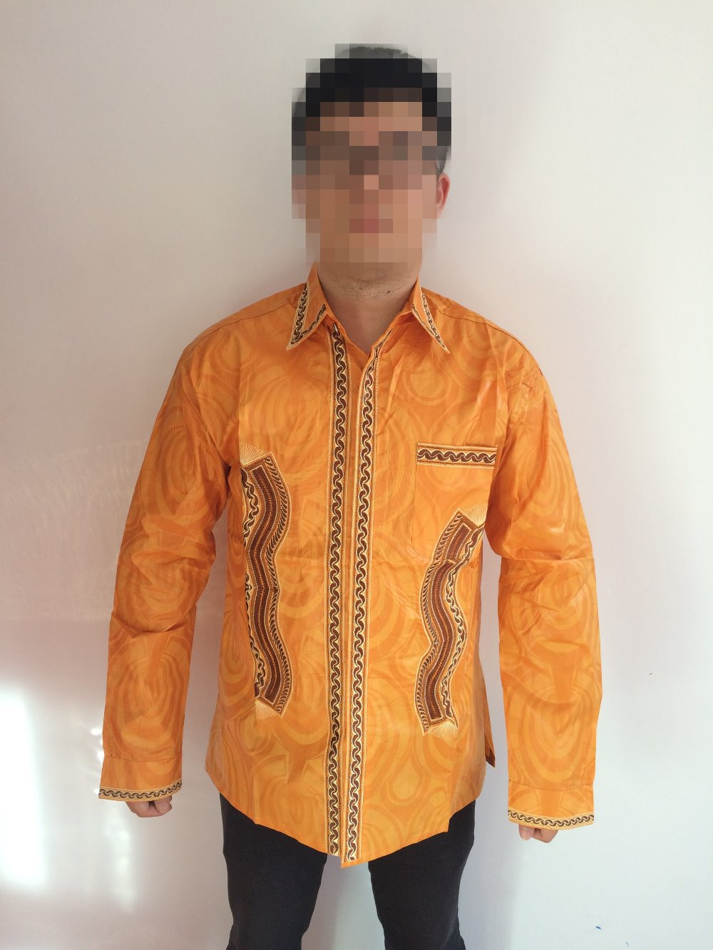 african dresses new african fashion bazin riche embroidery men shirt no have trouser and one pcs(China (Mainland))