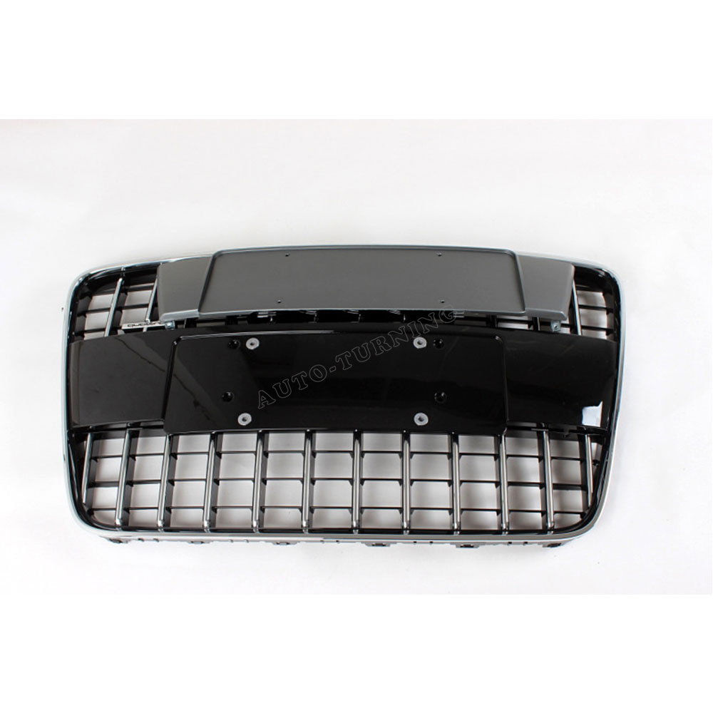 High Quality Black Form ABS Q7 S styler grill auto car front grille for Audi Q7 bumper  2008-2012 without senser hole<br><br>Aliexpress