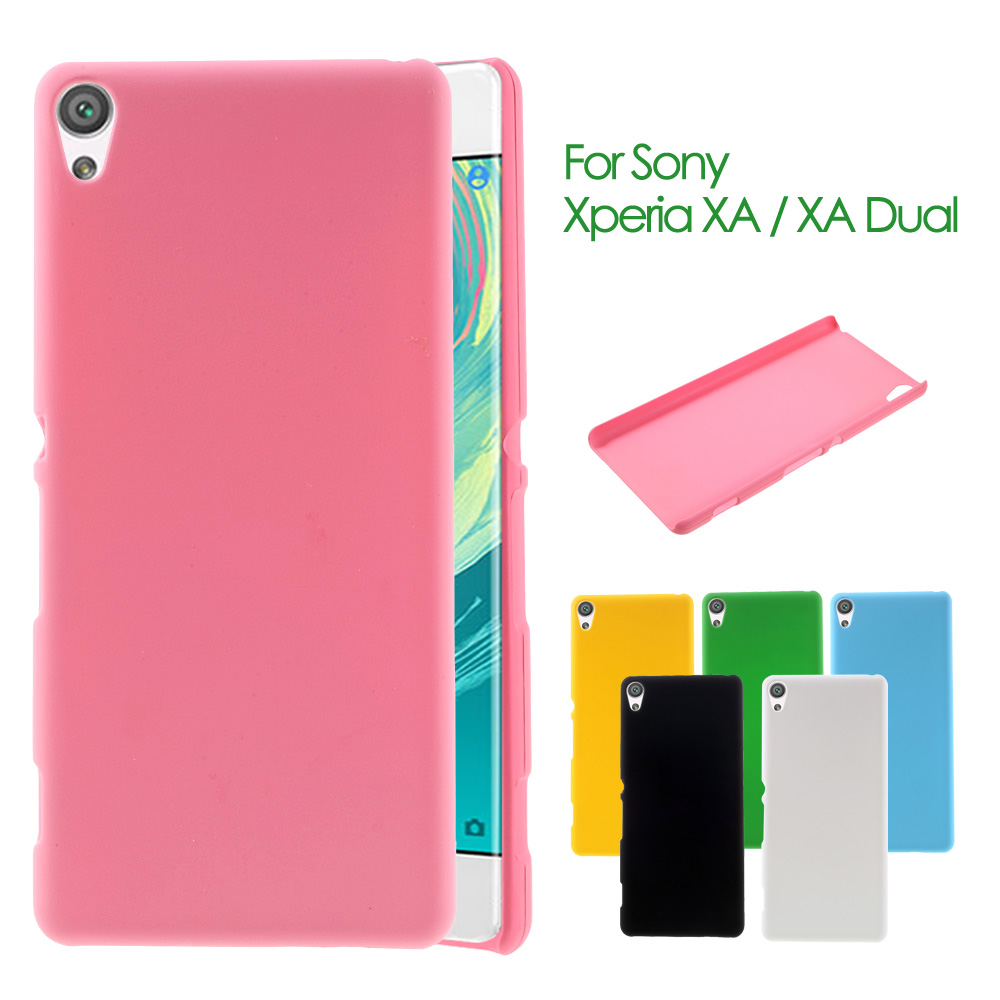 Phone Cover for Sony Xperia XA Rubberized Hard Plastic Case for Sony Xperia XA / XA Dual F3113 F3112 F3115(China (Mainland))