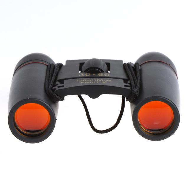 30X60 Zoom Mini Binoculars Telescope Folding Night Vision 126m/1000m with Retail Box