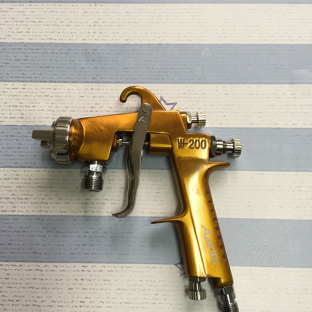 automatic paint spray gun gravity feed airbrush pressure pot 2.0mm nozzle coating spray gun<br><br>Aliexpress