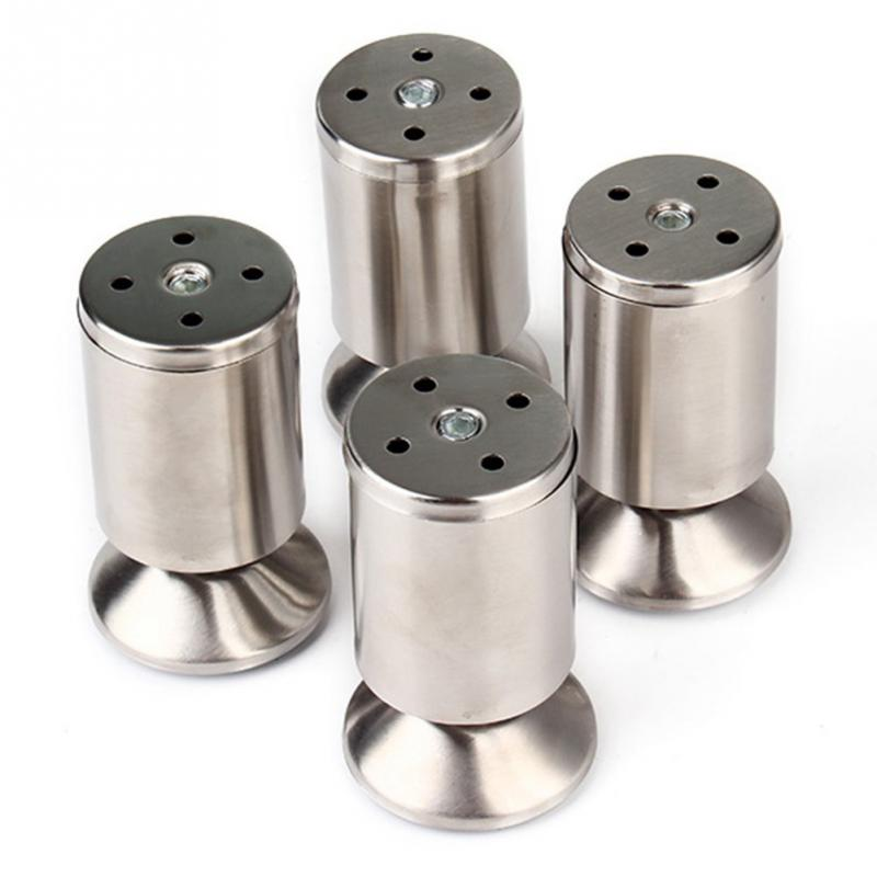 4pcs/pack Kitchen Adjustable Feet Height Stainless Steel Furniture Leg(China (Mainland))