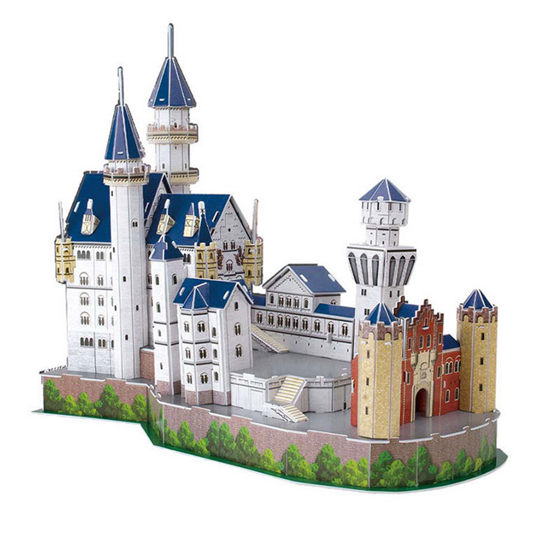 3D Ravensburger Puzzle New Swan Stone Castle Building Model Kit Jigsaw Games(China (Mainland))