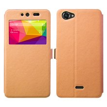 View Case Open Window Flip Leather Mobile Phone Case Cover For BLU Dash X D010 Cell Phone Case With Stand Design