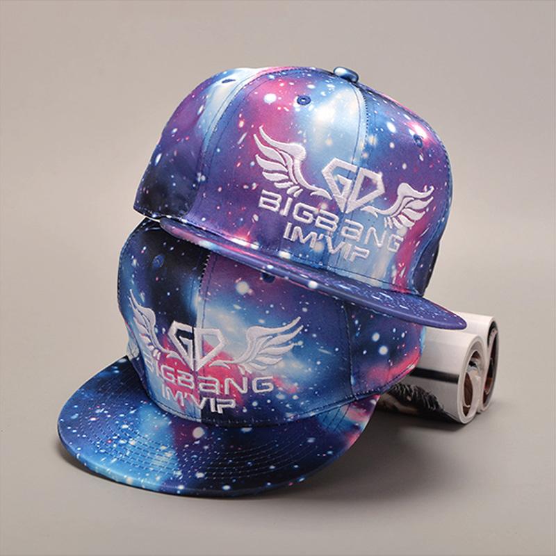 SHENGQU, New Galaxy Pattern Space Print Snapback Styles Baseball Cap Women Men Snap Back Unisex Hip Hop Peak Hats Gorra 1MZ331(China (Mainland))