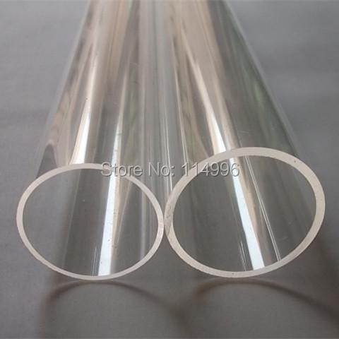 (120/100) OD120x10x1000mm Acrylic Clear Tube Building Decoration Plexiglass Plastic Transparent Pipe Can Custom Any Diameter(China (Mainland))