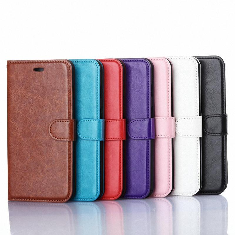 For iPhone 6 Plus 5.5 Inch Case Luxury Crazy Horse PU Leather Case For iPhone 6 Plus Magnetic Flip Wallet Fundas Capa Coque TPK(China (Mainland))