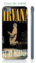 Mobile Phone Case Retail 1pc nirvana rock band Protective White Hard Case Cover For ipod touch 5 5th Free Shipping
