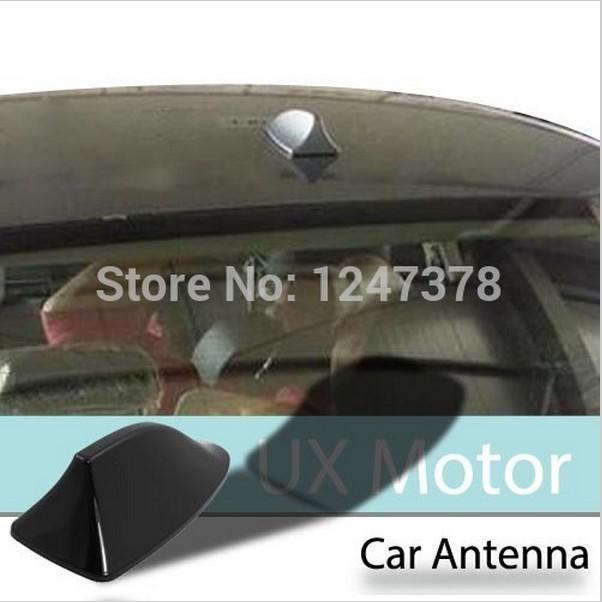 Car Auto Black Hard Plastic Shark Fin Antenna Decor Discount 50(China (Mainland))