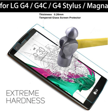 Buy 9H Hardness Tempered Glass Film sFor LG G4 / G4C / G4 Stylus / G Stylo / LG Magna Screen Protector Anti-Explosion LG for $1.86 in AliExpress store