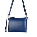 Classy Cowhide Bag Women Fashion Casual Shoulder Bag Simple All match Small Crossbody Bag Succinct Envelope