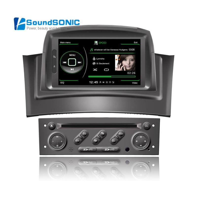 megane 2 car dvd gps navigation navigator radio for renault megane 2 ii fluence navigation audio. Black Bedroom Furniture Sets. Home Design Ideas