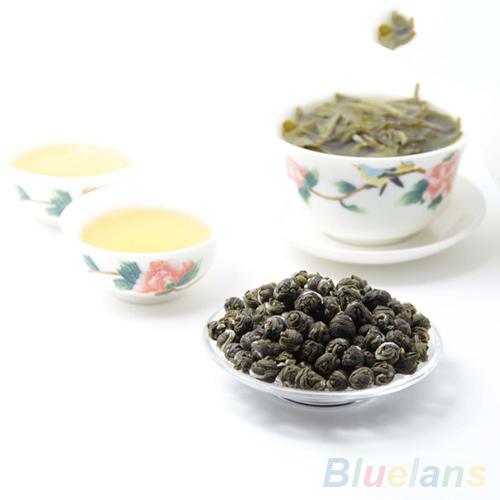 100g Chinese Organic Premium Jasmine Dragon Pearl Ball Natural Green Tea 2MZ1 5KO2