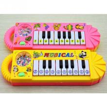 Mini Electronic Keyboard Portable Intelligent Musical Toy Electronic Keyboard Early Education Tool For Children(China (Mainland))