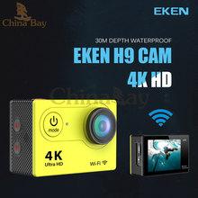 New Arrival!Original Eken H9 Ultra HD 4K Action Camera 30m waterporoof 2.0′ Screen 1080p 60fps sport Camera go extreme pro yi sj