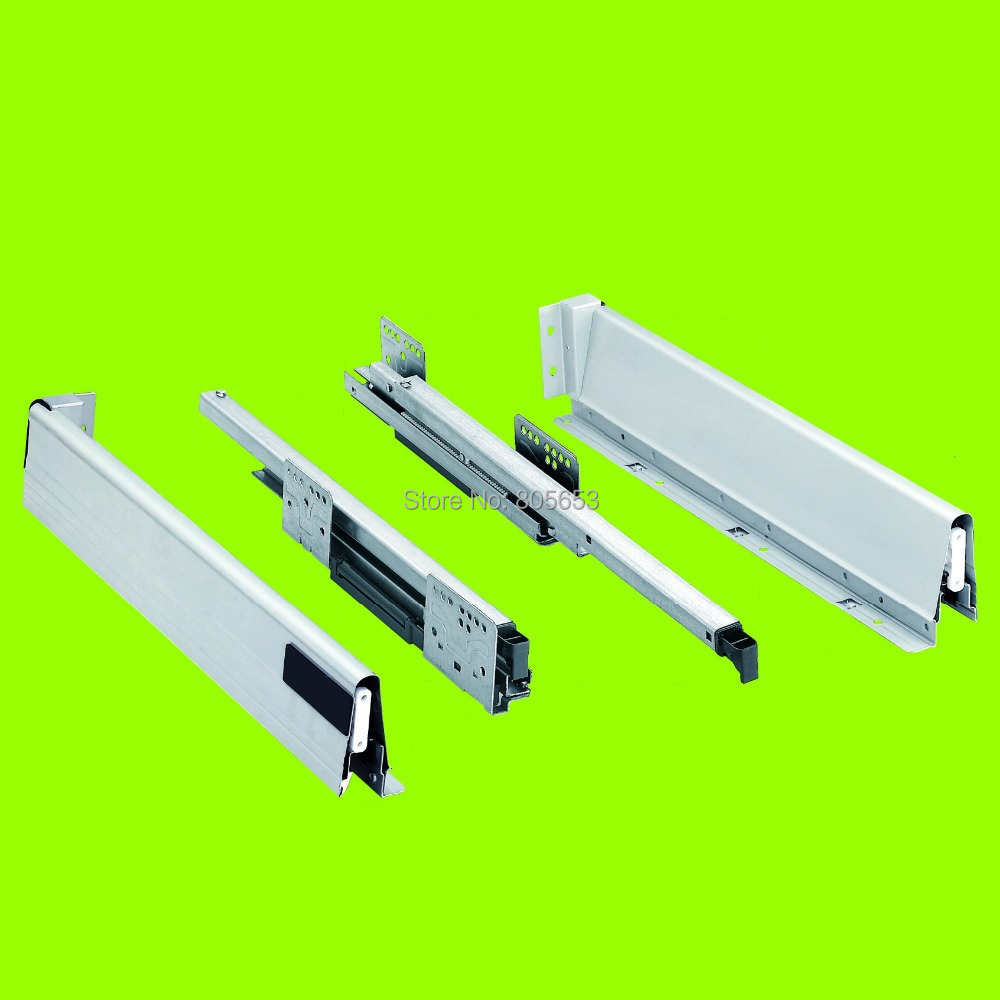 best price +good quality 14 inch damping drawer slide (DS8111-14)(China (Mainland))