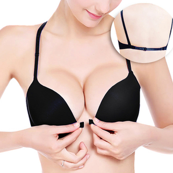 New Arrive 2015 Women's Underwear Sexy Seamless Push Up Bra Has Rims 3/4 Cup Brassiere 10 Color Selectable Backless Bra Sutia