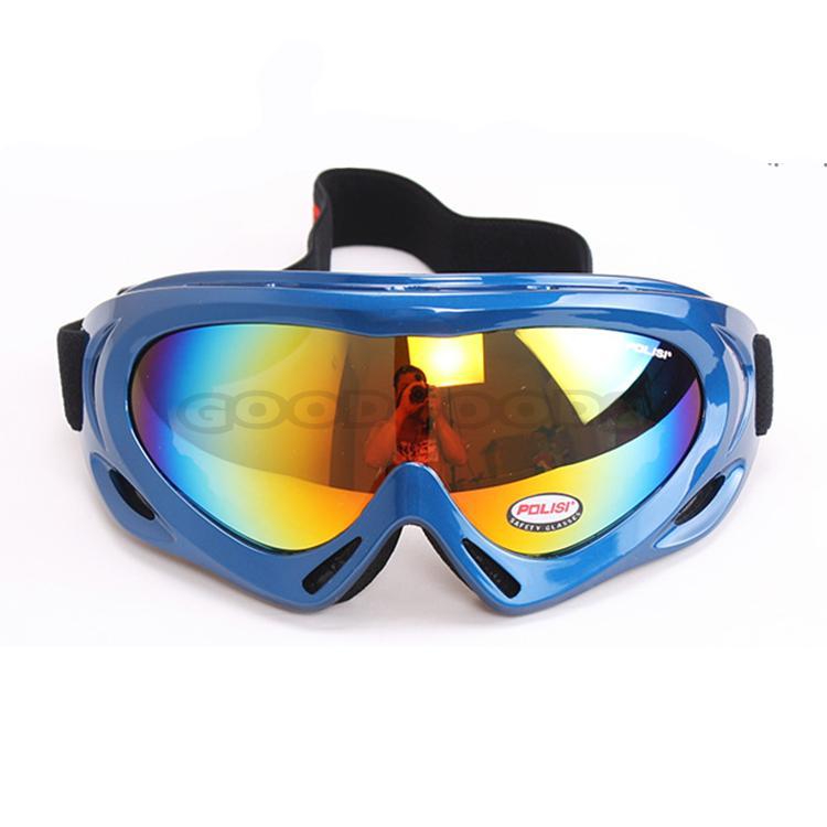 New 2015 POLISI Children Kids Sports Snowmobile Glasses Ski Outdoor Motorcycle Eyewear Snowboard Skate Sled Goggles Glasses(China (Mainland))