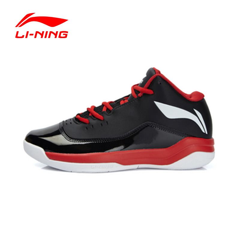 LI-NING Men Outdoor Basketball Shoes Hard-Wearing Cushioning Damping Lace-Up Sneakers Sport Shoes ABFL005 XYL066(China (Mainland))