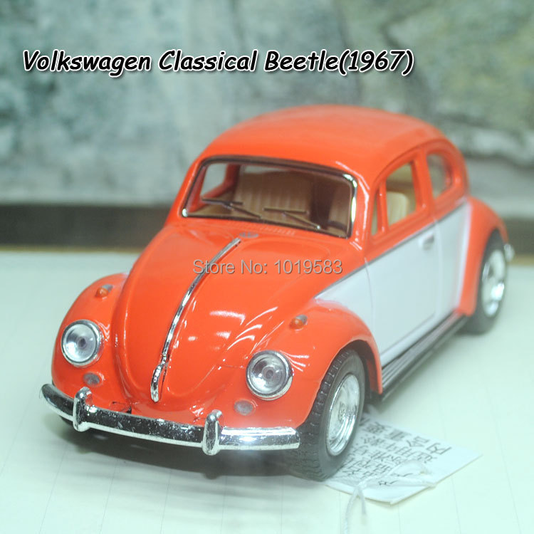 Brand New 1/32 Scale Diecast Car Model Toys Special Version Classical Volkswagen Beetle(1967) Metal Pull Back Car Toy For Gift(China (Mainland))