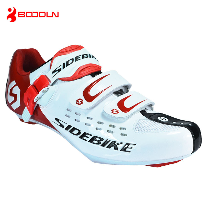 SIDEBIKE Professional Cycling shoes for Mountain Bike Racing Athletic Shoes Bicycle MTB Sports Self-Locking Cycling Shoes