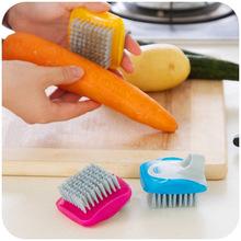Mini Cleaning Brush Vegetables Fruit Cooking Tools Kitchen Accessories Cuisine Cozinha Gadgets De Cocina Ferramentas(China (Mainland))