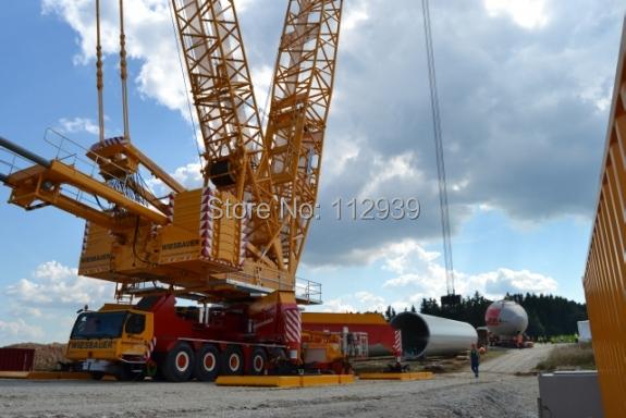 ... Lattice mast crane - Wiesbauer Alloy Car Model toys Engineering Model