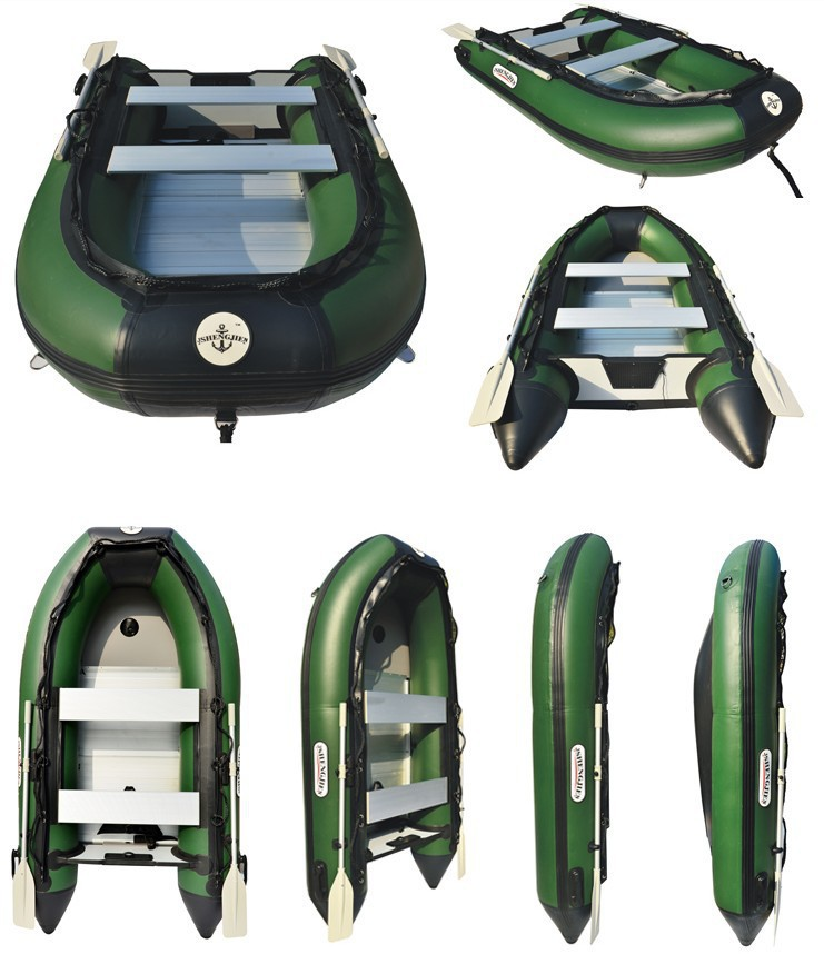 2015 summer thickened 2-6 person inflatable boat fishing boat rubber boats assault boats kayaks free shipping(China (Mainland))
