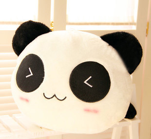 Baby toy 27cm Smile Giant Panda Pillow Mini Plush Toys Stuffed Animal Anime Toy Doll For Children Kids Girl Valentine's Day Gift(China (Mainland))