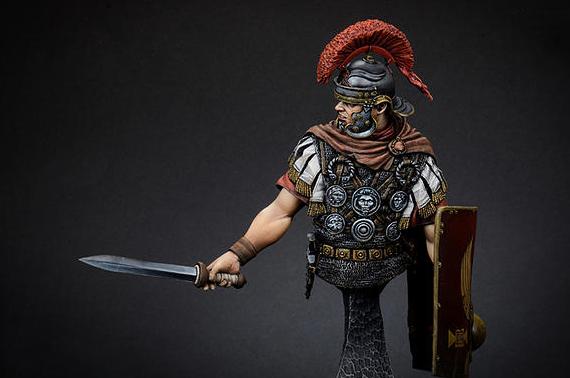 Здесь можно купить  Resin Models 1/12 Roman Soldiers Bust Free Shipping 1 piece  Игрушки и Хобби