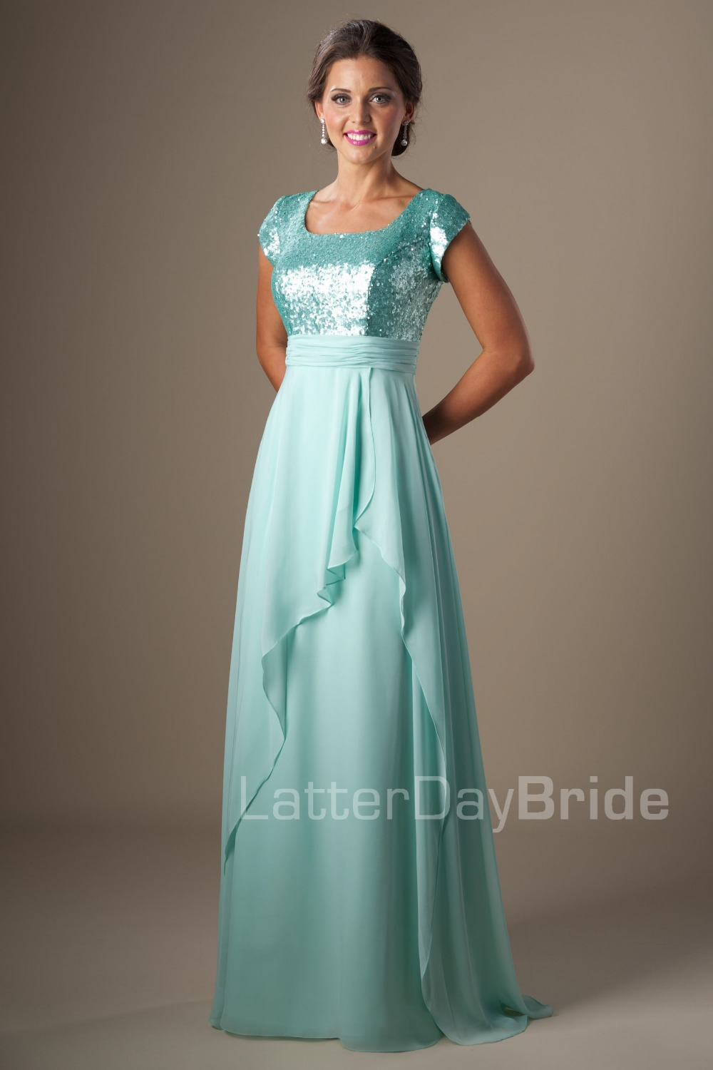 Modest Prom Dresses For Less - Homecoming Prom Dresses