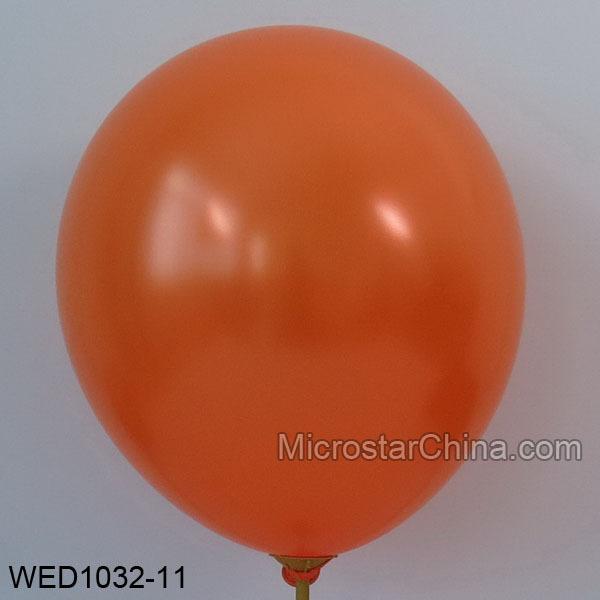 Free Shipping Thickening 12inch 3.2g/pc 50pcs/lot Latex Helium Pearl Party Wedding Birthday Balloon orange color balloon(China (Mainland))