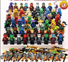 Legoes Ninjagoes Minifigures Sets Kai Jay Cole Zane Lloyd Nya Ghost Ninja GARMADON Morro Phantom Skybound Sky Priate Blocks Toys - NeverLand funny toy Store store
