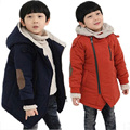 New Brand Boys Jackets Winter Warm Thick Casual Clothes Boys Down Coats Long Sleeve Cotton Coats