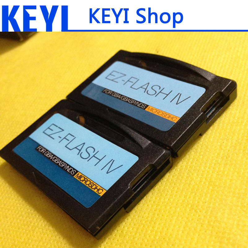 2016 HOT NEW EZFlash IV MicroSD support TF card 2GB to 32GB Free EZ shipping Flash Burn card GBA TT-FLASH(China (Mainland))
