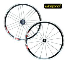 Litepro ultralight 960g 16/21h 20 inch 406 wheel set folding bike V brake wheelset bmx wheel bmx parts(China (Mainland))