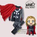 Fashion Children s Clothing Sets Boys Tracksuits Sport suit 2piece Captain America Spiderman Avengers Alliance Fleece