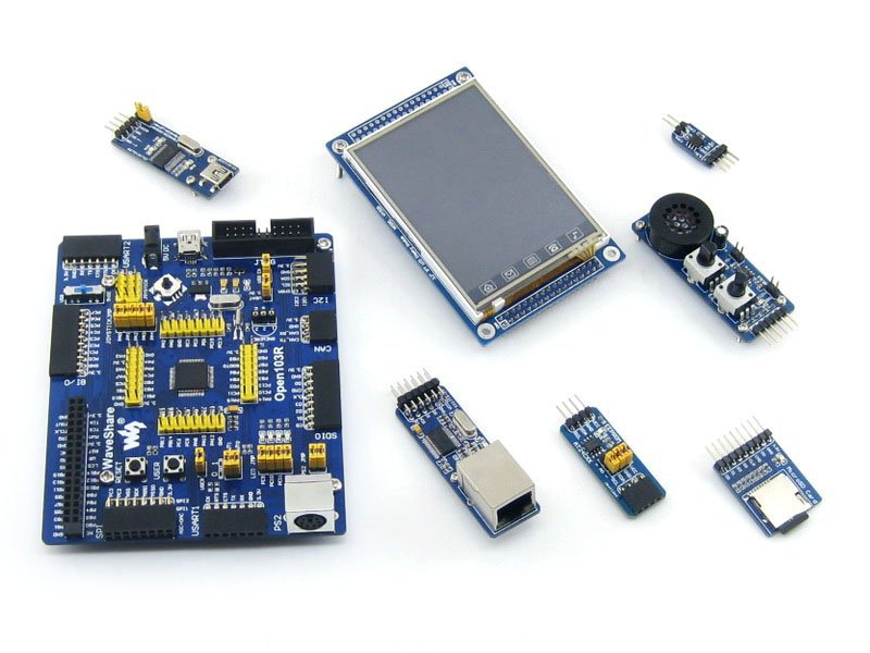 STM32 Board STM32F103RCT6 STM32F103 ARM Cortex-M3 STM32 Development Board + 6 Accessory Module Kit =Open103R Package A<br><br>Aliexpress