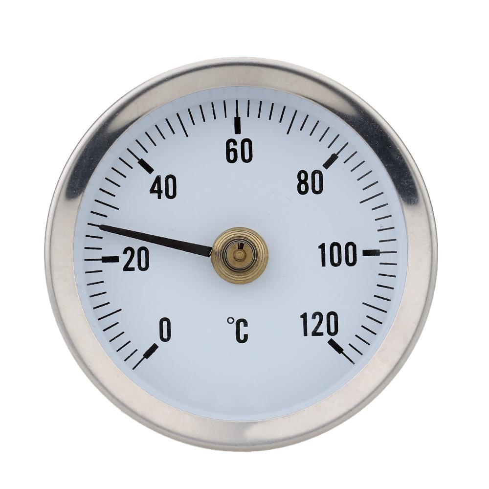 Bimetal Stainless Steel Surface Pipe Thermometer Temperature Gauge Spring termometro digitale thermometre estacion metereologica(China (Mainland))