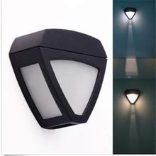 Открытый Сад Освещение Мощность Солнечной Лампы Автоматический Аварийный Безопасности Лампы IP55 Водонепроницаемый Датчик Настенные Светильники Забор «Лампада» Led