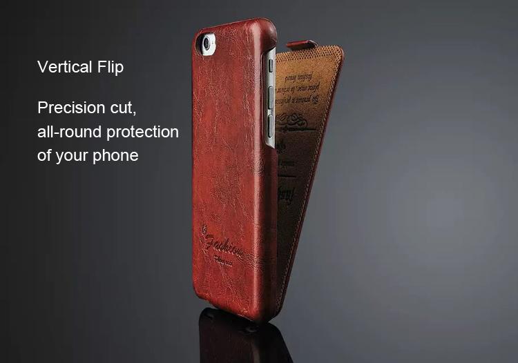 Hot Sales 100% Genuine Leather Flip Case Apple iPhone 6 Brand Original Classic Mobile Housing Russia Simplicity - Shenzhen Cheap-Ltd. store