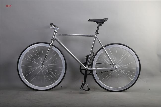 7Colors 44T Wheels Alloy Frame Fixie Bike Fixed Gear Road Bike Mountain Bicycle Fixed Gear Bike(China (Mainland))
